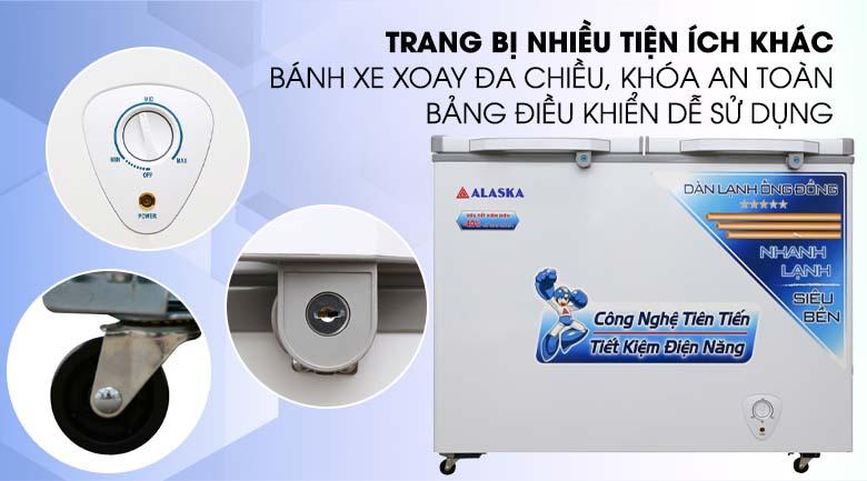bảng điều khiển nhiệt độ tủ đông alaska