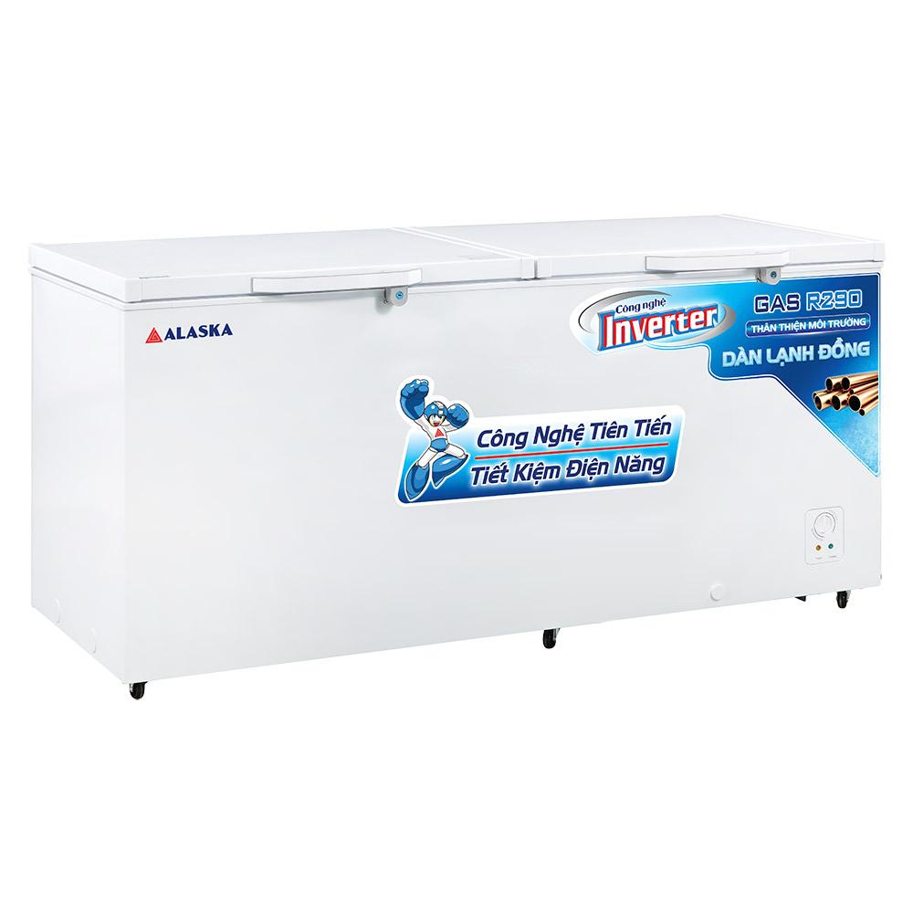 tủ đông alaska HB 1200CI, dung tích 1200 lít