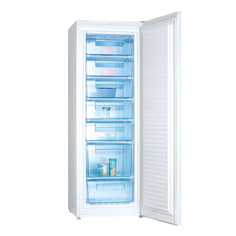 tủ đông alaska dung tích 250 lít 7 ngăn đông