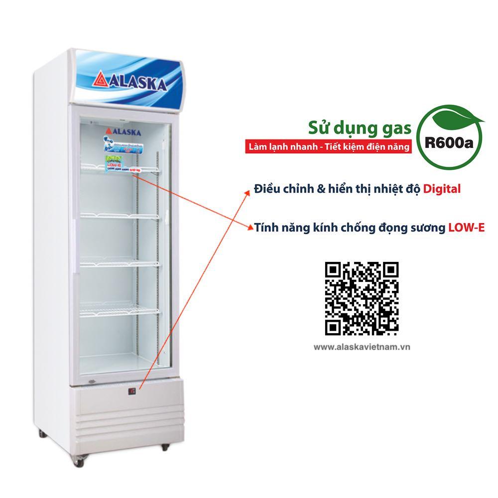 Tủ Mát Alaska LC 933C dàn lạnh đồng 550 lít