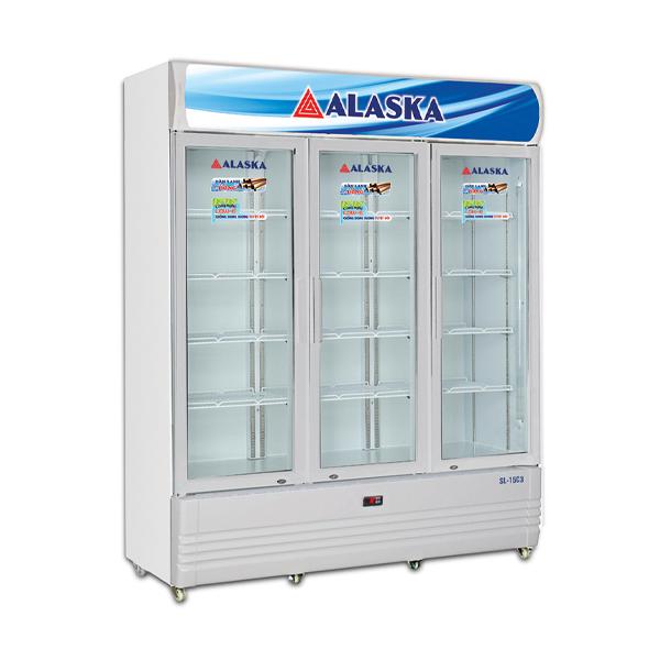 tủ mát alaska SL 15C3 1500 lít dàn lạnh đồng